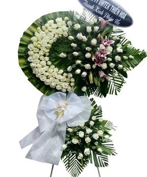 hoa chia buồn hcb 23