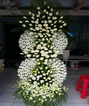 hoa chia buồn hcb 17