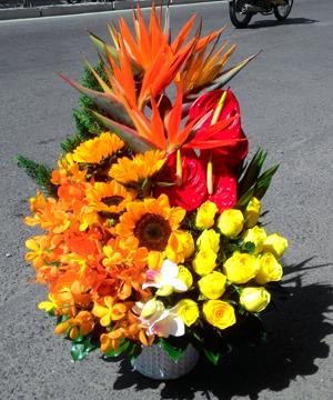 dịch vụ hoa tươi quận 8