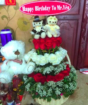 giỏ hoa sinh nhật (2)
