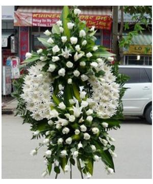 vòng hoa tang lễ huyện bình chánh