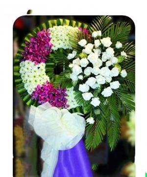 vòng hoa tang lễ quận 2
