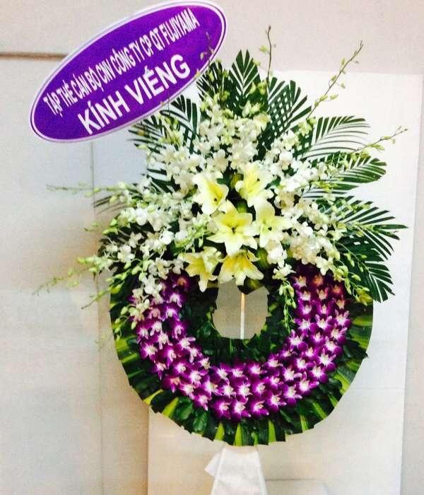 vòng hoa tang lễ quận bình tân