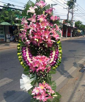 vòng hoa tang lễ quận gò vấp