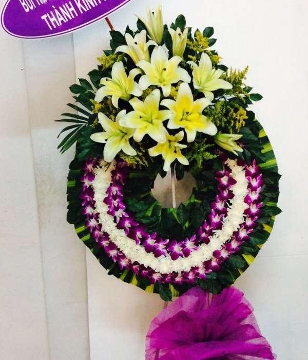vòng hoa tang lễ quận tân phú