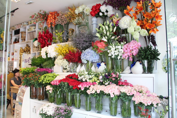 shop hoa tươi huyện bình chánh