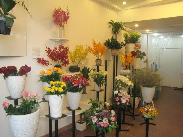 tiệm hoa tươi quận 3