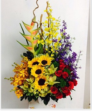 tiệm hoa tươi quận 4
