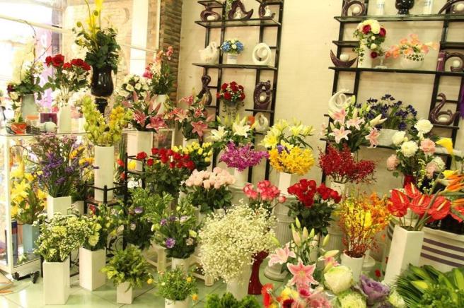 tiệm hoa tươi quận 6