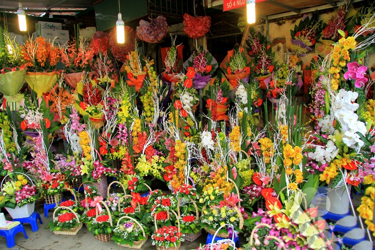 tiệm hoa tươi quận 7