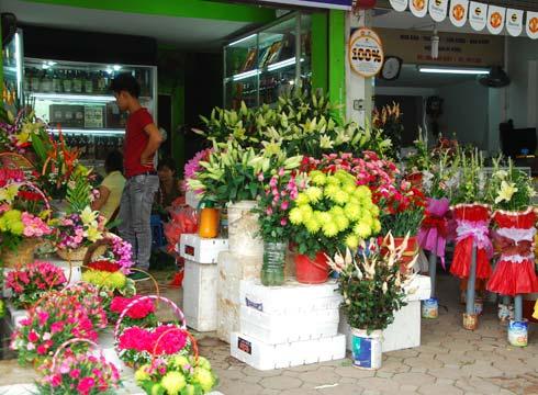 tiệm hoa tươi quận 8 ở tphcm