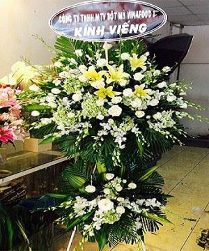 hoa chia buồn hcb 63