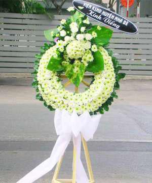 hoa chia buồn hcb 64