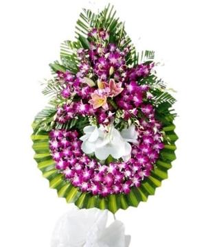 vòng hoa tang lễ vĩnh long