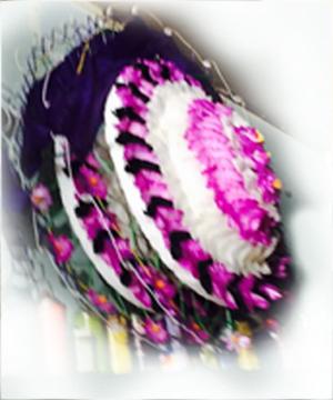 vòng hoa cườm vhc 08