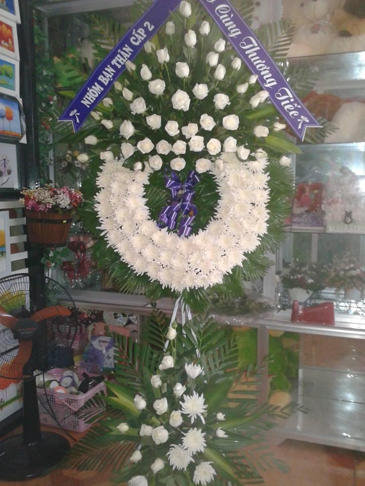 vòng hoa tang lễ hải phòng