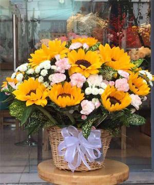 giỏ hoa gh 03