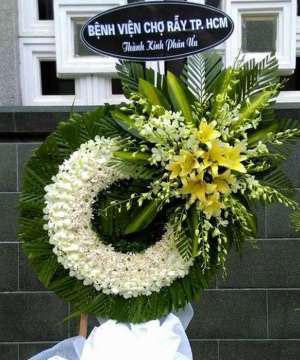 hoa chia buồn hcb