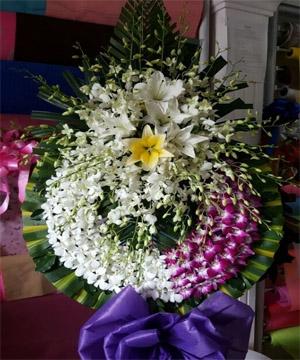 hoa chia buồn hcb 73