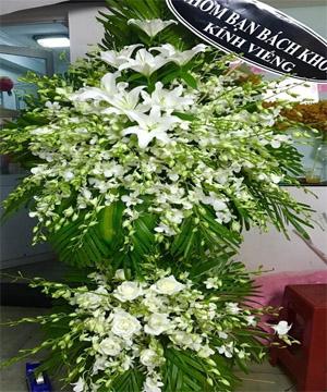 hoa chia buồn hcb 74
