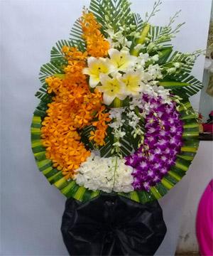 hoa chia buồn hcb 75