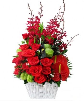 tiệm hoa quận 1