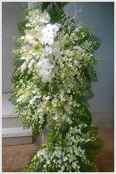 vòng hoa tang lễ huyện củ chi