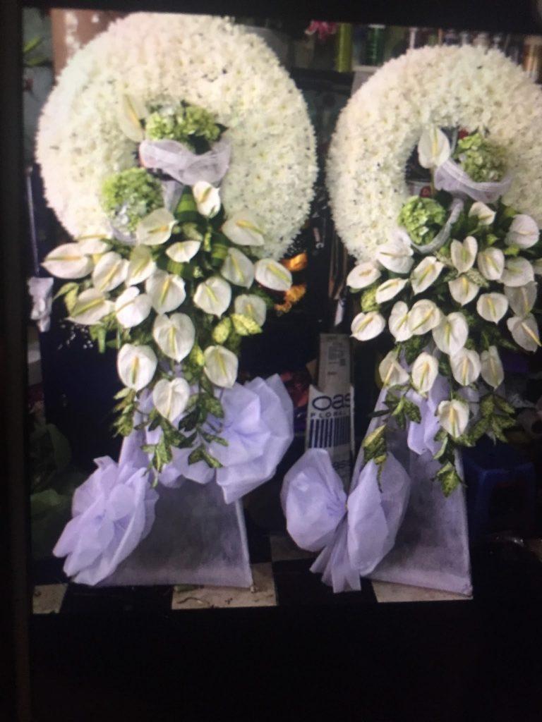 vòng hoa tang lễ tỉnh quảng ninh