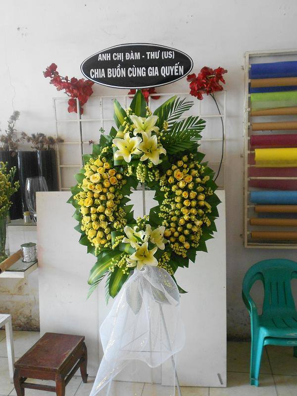 điện hoa tang lễ quận 3