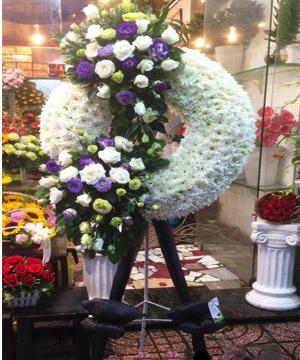 hoa chia buồn hcb 80