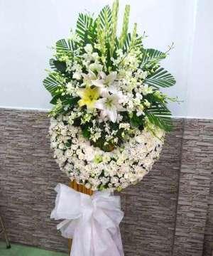 hoa tang lễ huyện nhà bè