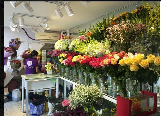 địa điểm bán hoa tươi quận 2