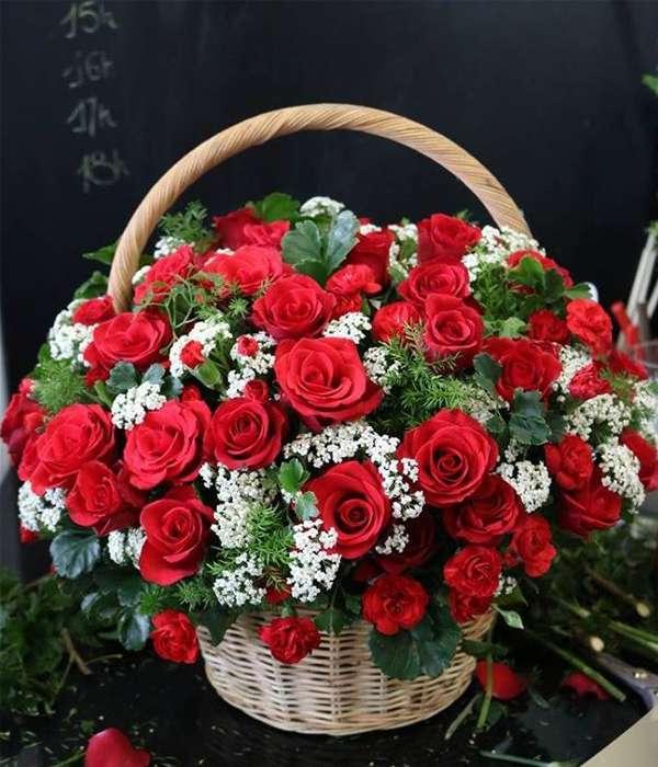 giỏ hoa tươi 8.3