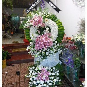hoa chia buồn hcb 84