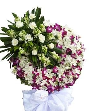 hoa chia buồn hcb 85