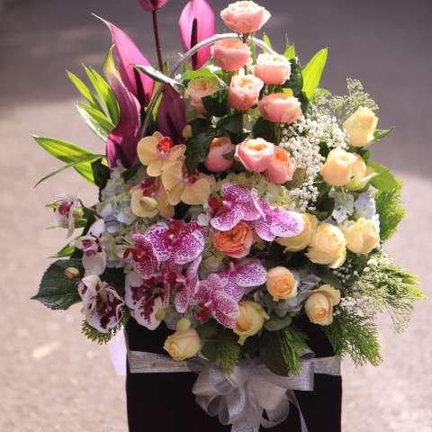 lẵng hoa đẹp nhất