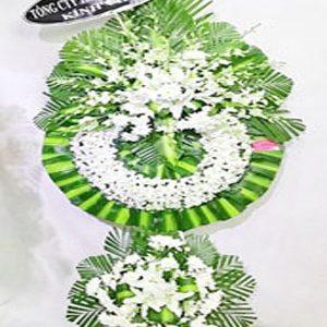 mẫu vòng hoa đám tang