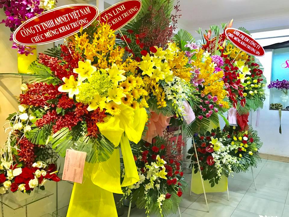 shop hoa tươi quận 1 ở tphcm