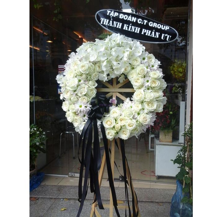 lẵng hoa viếng đám tang quận 2