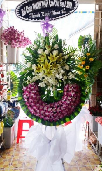 vòng hoa đám tang bạc liêu