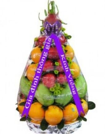 giỏ trái cây cúng đám ma