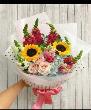 bó hoa bh 45
