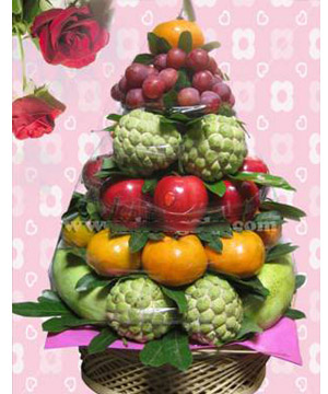 trái cây đám tang