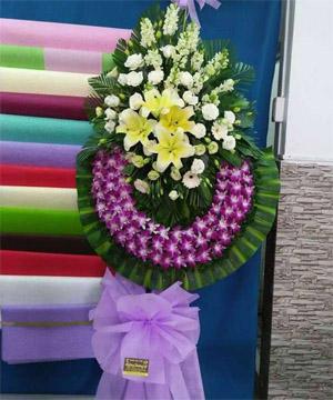 đặt vòng hoa tang lễ vĩnh long
